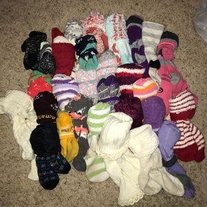 BUNDLE 27 pairs of fluffy socks ❤️❤️
